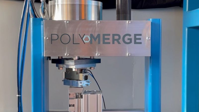 PolyMerge, machine building for plastic welding, PPA material, infraredwelding, welding process, circular friction welding, electronic, CircleMerge, circular welding, ThermMerge,